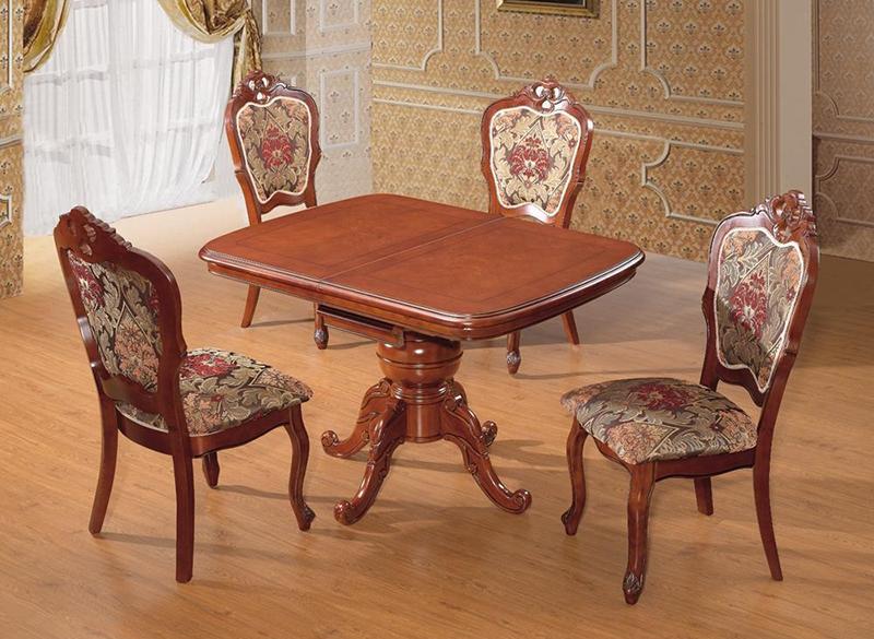 Стол круглый раскладной dm-t4ex real мебель из малайзии и китая вологда +7(921) 230-30-28